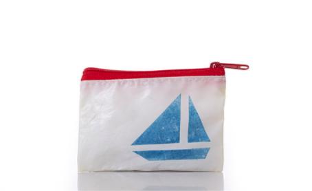 Sea Bags Change Purse - Sailboat