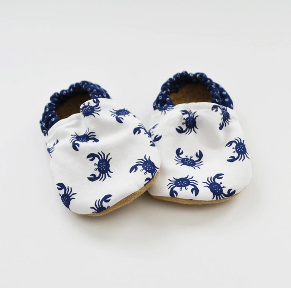 Baby Booties Crab 0-3 Months