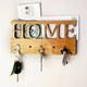 LeRoy Woodworks Magnetic Home Mail/Key Holder