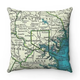 Map Pillow