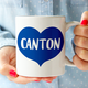 Rock Scissor Paper Big Heart Mug - Canton
