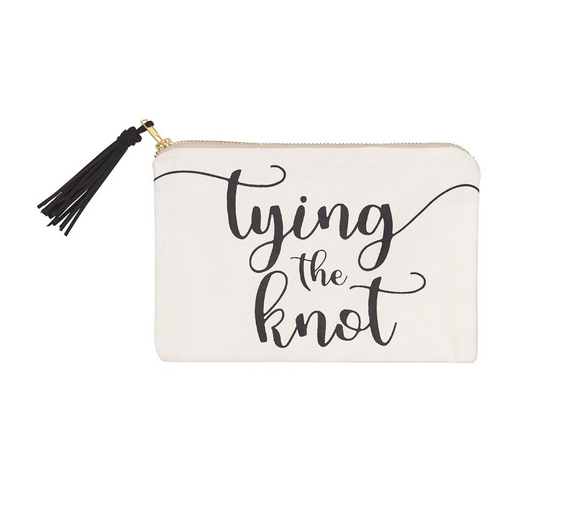 Collins Painting Tying the Knot Cosmetic Bag