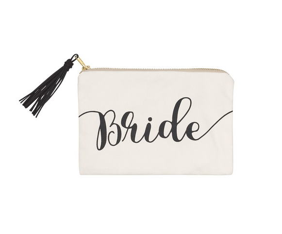 Collins Painting Bride Cosmetic Bag