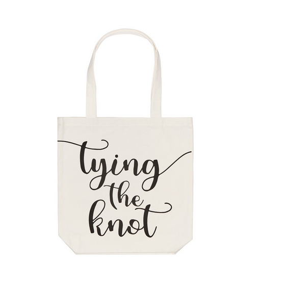 Collins Painting Tying the Knot Tote Bag