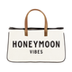 Creative Brands Canvas Tote - Honeymoon Vibes
