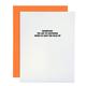 Chez Gagne Marriage: STFU Card