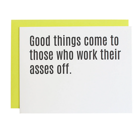 Chez Gagne Good Things Come Card