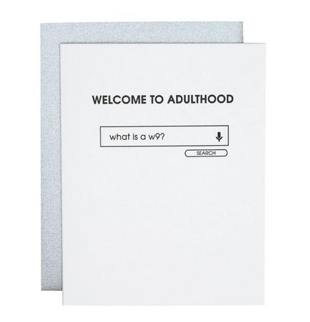 Chez Gagne Adulthood W9 Card