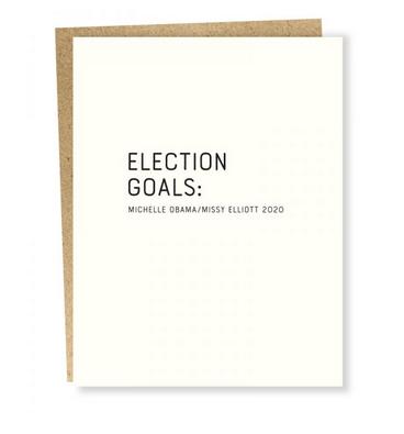 Sapling Press Aim High - Obama/Elliott Card