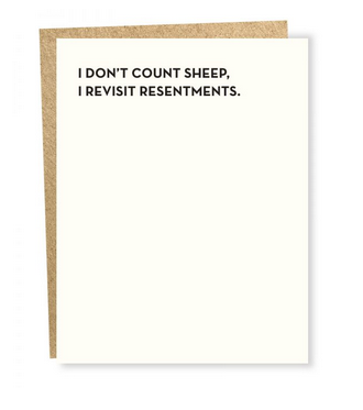 Sapling Press Moment of Truth: Resentments Card