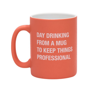 About Face Designs Day Drinking Mug