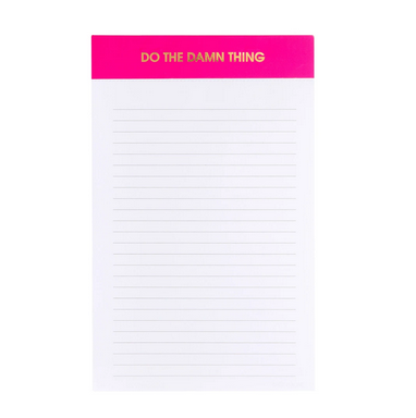 Chez Gagne Do the Damn Thing Notepad