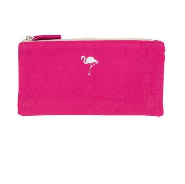 About Face Designs Flamingo Money Pouch