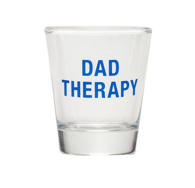 About Face Designs Dad Therapy Shot Glass