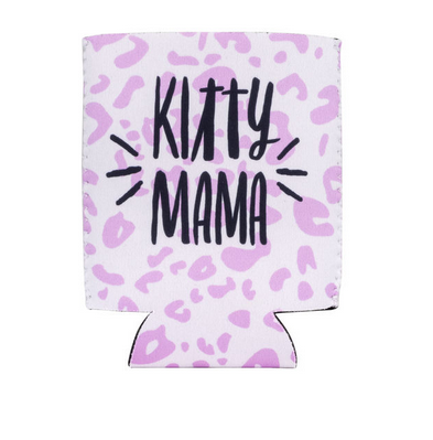 About Face Designs Kitty Mama Koozie