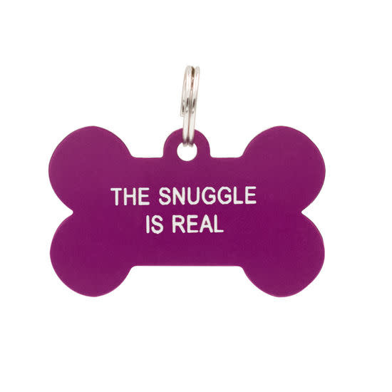 About Face Designs Dog Tag - Snuggle is Real