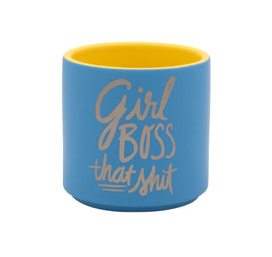 About Face Designs Girl Boss Planter