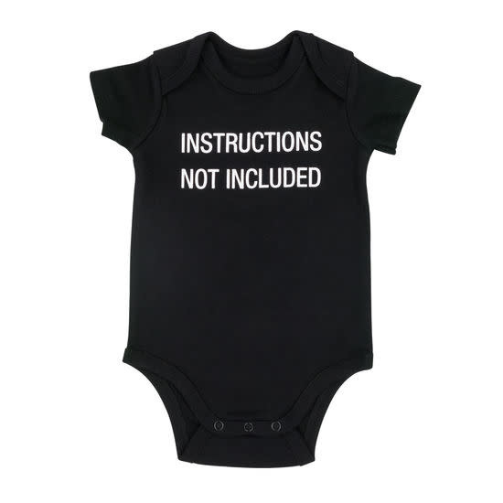 About Face Designs Instructions Not Included Onesie 3-6 Months