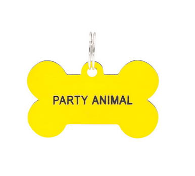 About Face Designs Dog Tag - Party Animal