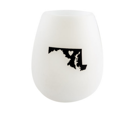 About Face Designs Maryland Silicone Wine Glass