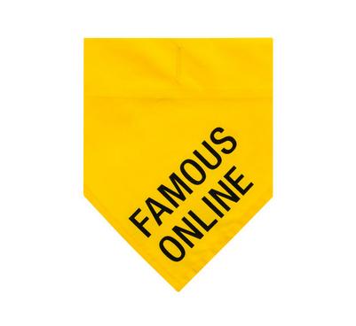 About Face Designs Famous Online L/XL Dog Bandana