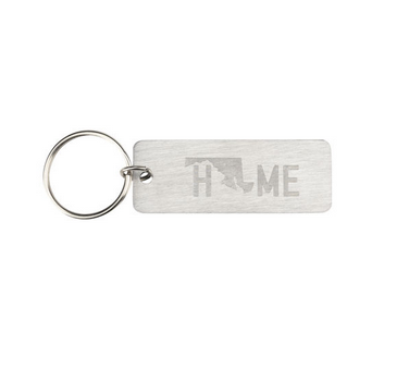 About Face Designs Maryland Keychain