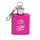 About Face Designs I Do Crew Key Ring Flask