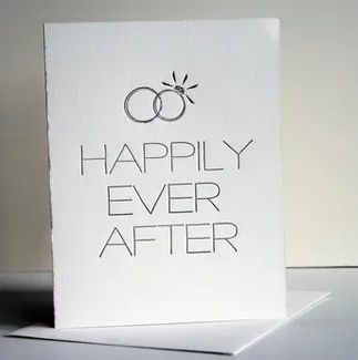 Steel Petal Press Happily Ever After Card