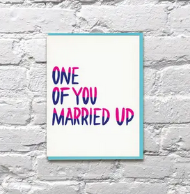 Bench Pressed Married Up Card