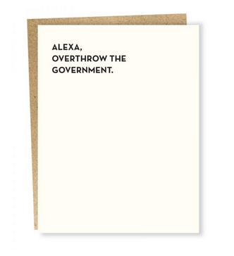 Sapling Press Alexa: Government Card