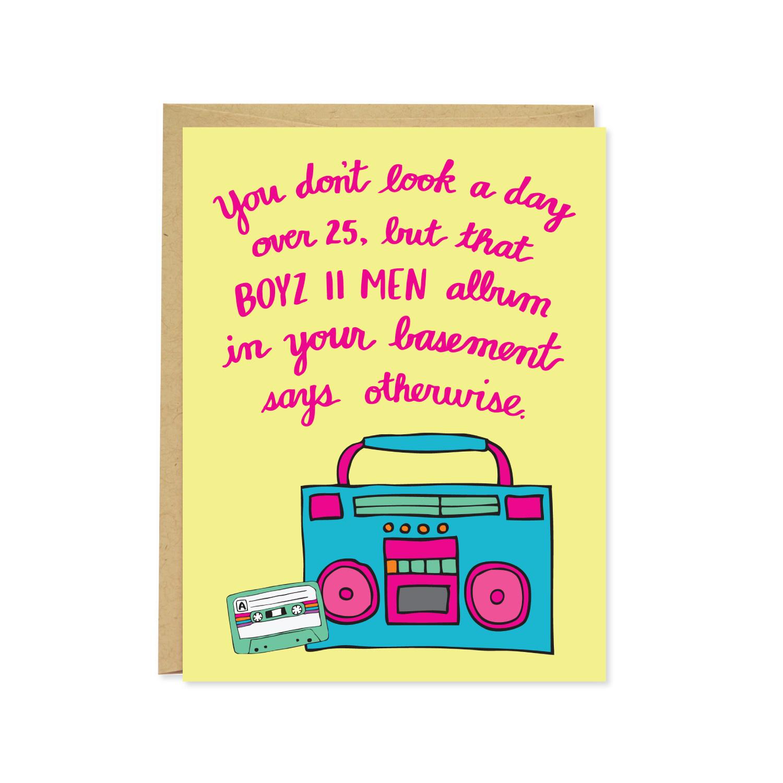 Row House 14 Boyz II Men Birthday Card