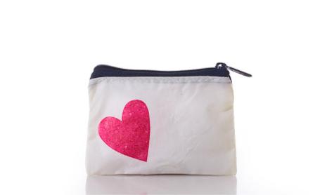 Sea Bags Change Purse - Heart