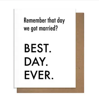 Pretty Alright Goods BDE Married Card