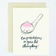 Egg Press Lil Dumpling Card