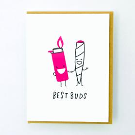 Egg Press Best Buds Card
