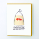 Egg Press Goldfish Card