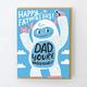 Egg Press Yeti Dad Card