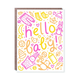 Egg Press Hello Baby Card
