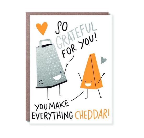 Egg Press Cheddar Card