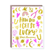 Egg Press Lucky Charm Anniversary Card