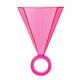 Slant 3oz Shot Glass - Light Pink Ring
