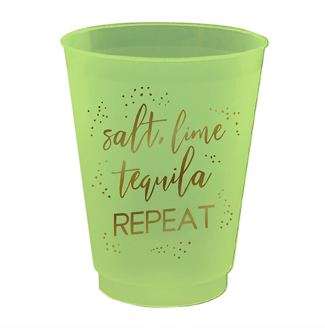 Slant 16 oz Party Cups - Tequila