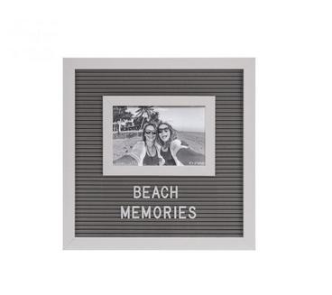 Ever Ellis Letter Board Frame - Gray
