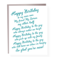 Paper Ephipanies Lover Rant Birthday Card