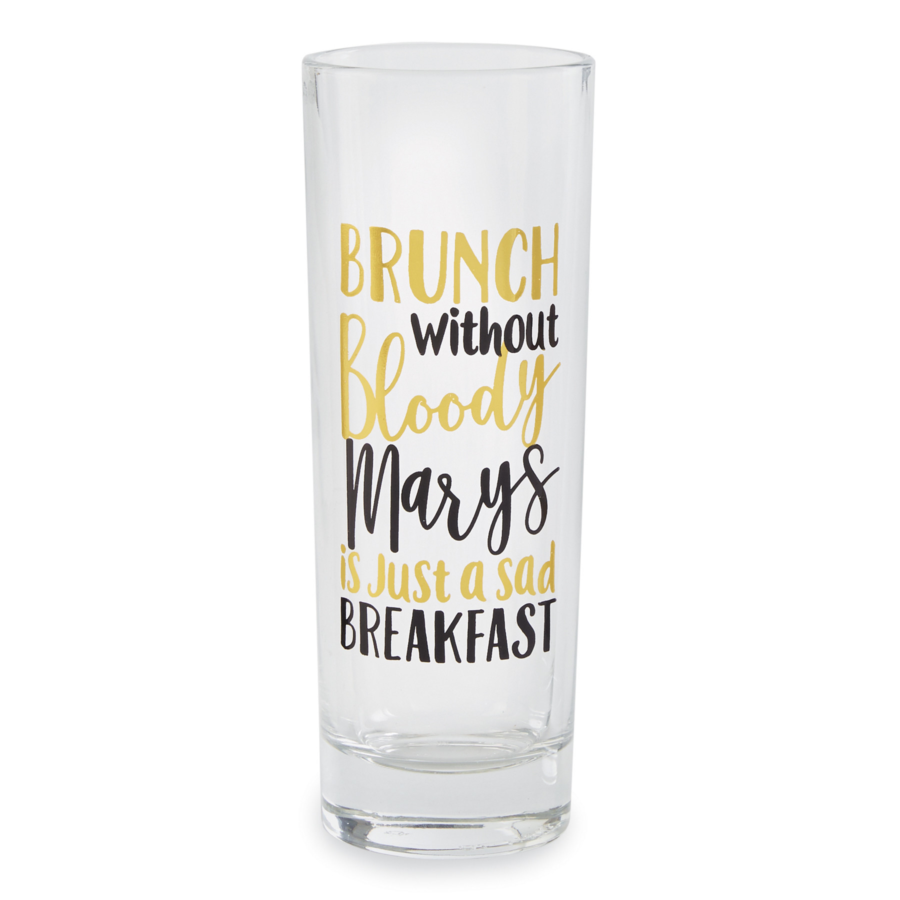 Mud Pie BRUNCH HIGHBALL GLASS
