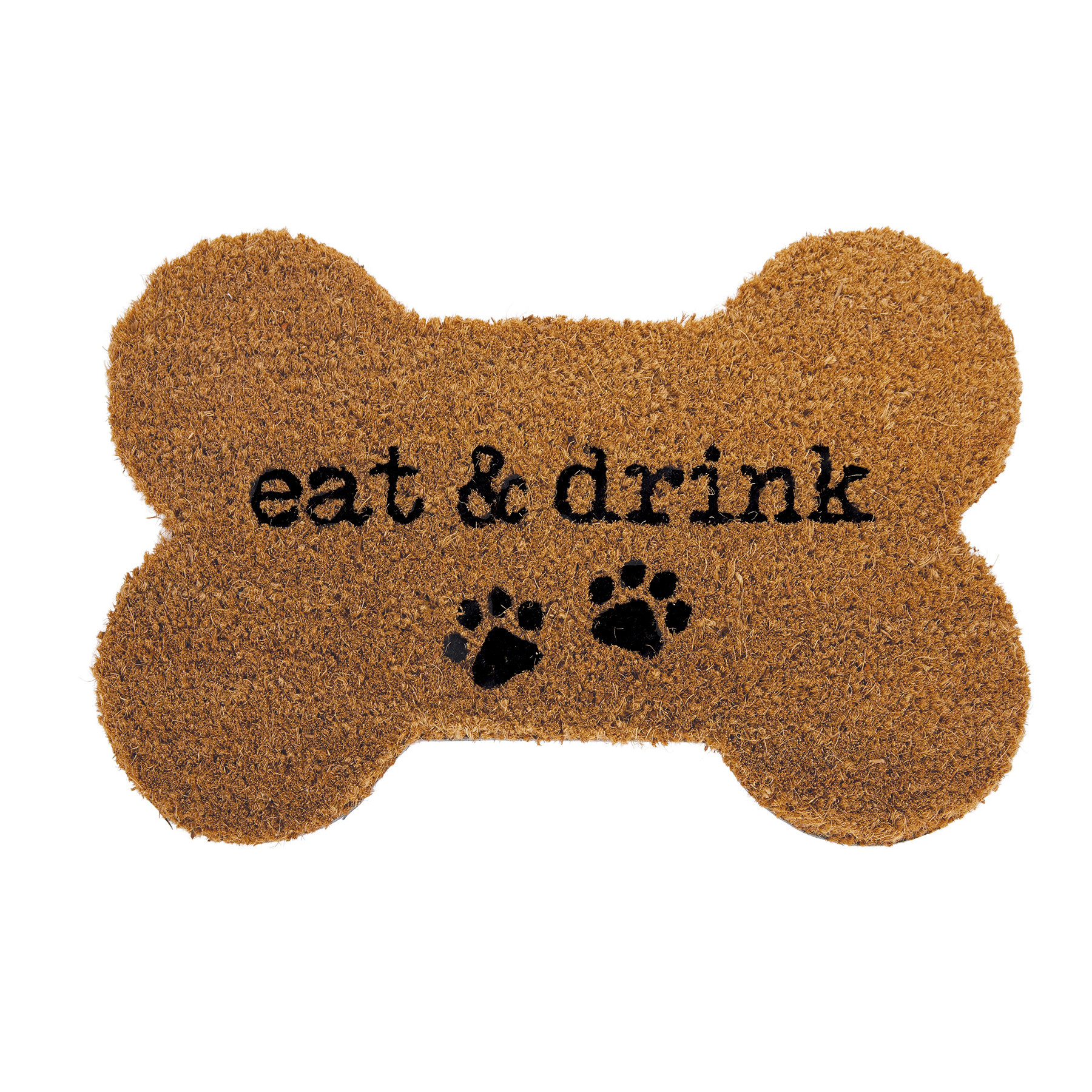 Mud Pie EAT & DRINK BONE SHAPED MAT