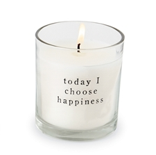 Mud Pie HAPPINESS PAZITIVE CANDLE IN BAG
