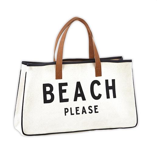 Creative Brands Canvas Tote - Beach Please