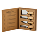 Creative Brands Cardboard Book Set - Cheese Knives