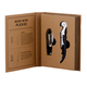 Creative Brands Cardboard Book Set - Wine
